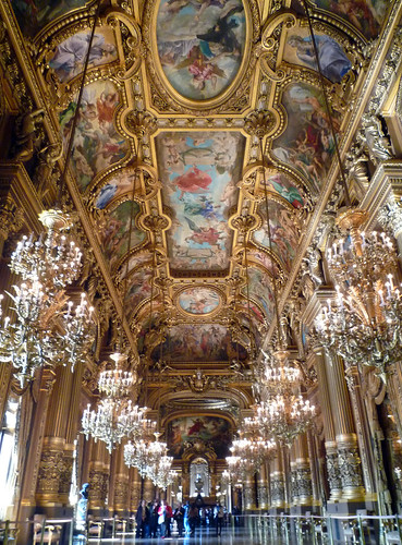 Garnier's Paris Opéra, The Grand Foyer With Ce...