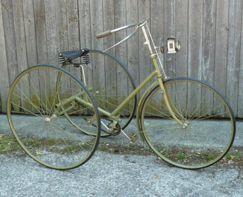 1894 Clement tricycle
