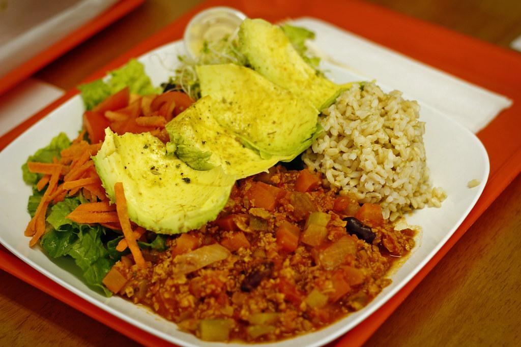 Lunch at Ruffage Natural Foods