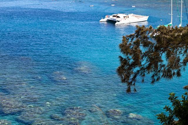 Snorkel Boat at Honolua Bay, Maui