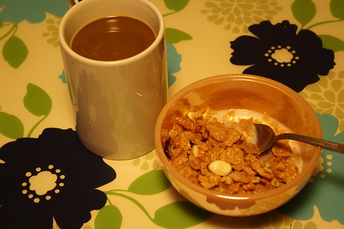 coffee, cereal