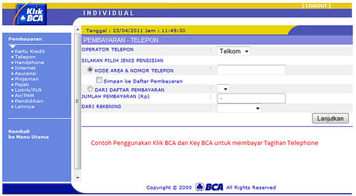 klik-bca-transaction