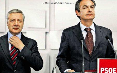 11e25 ABC Foto Jaime García ZP tras el batacazo electoral