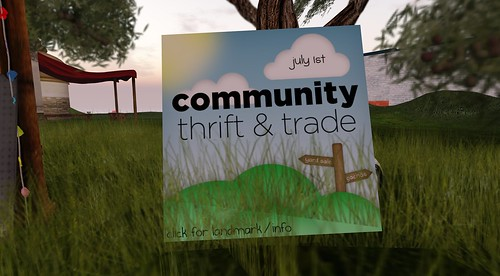 Community Thrift & Trade Event by How Vexing D: @#$%*!!