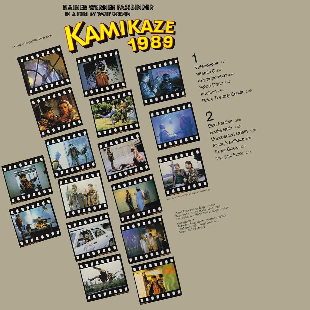 Edgar Froese - Kamikaze 1989