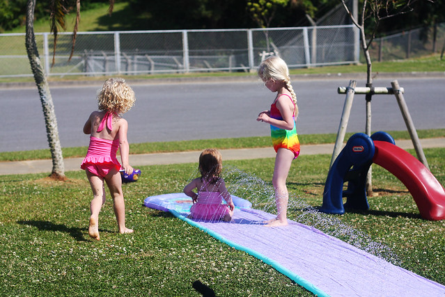 3 Girls Slip & Slide