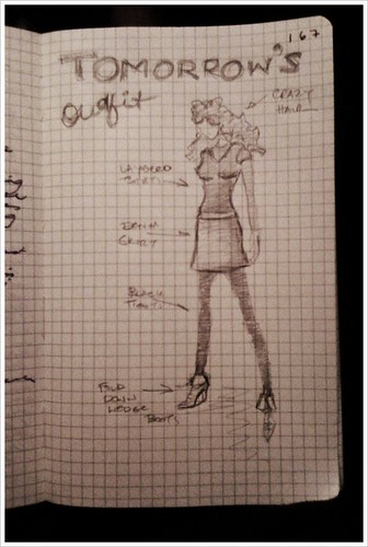 24-2011 // planning what to wear