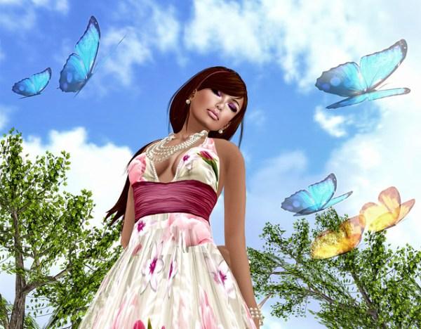 Vignettes - Spring Filled Sims
