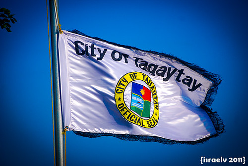 City of Tagaytay Flag by israelv