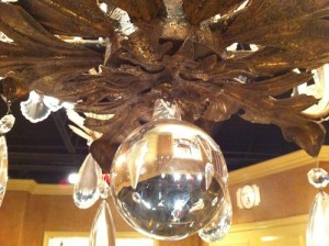 Old Hickory Tannery chandelier