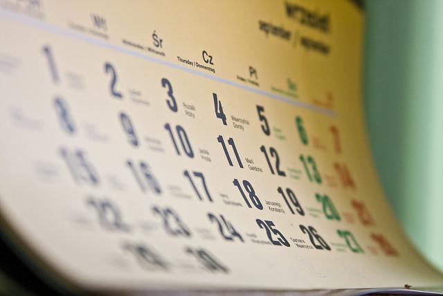 Calendário de Posts