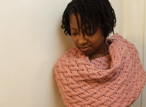 Pink Shawl by Creatively Motivated