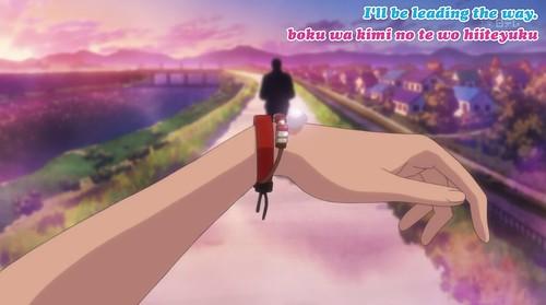 12. Ryu's present to Chizu.