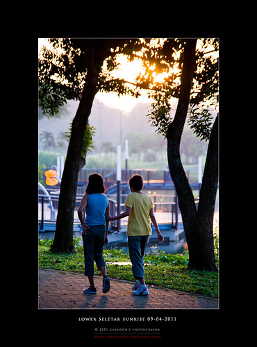 Lower Seletar Reservoir Sunrise 09-04-2011 #7
