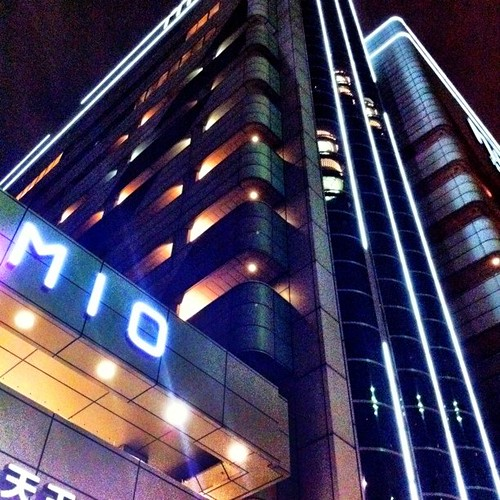 もう一枚、サービスショット! 天王寺ミオだよ~♪ #Osaka #night