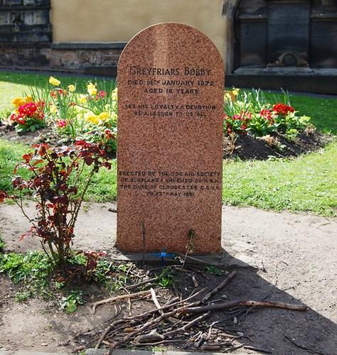 Greyfriars Bobby Grave