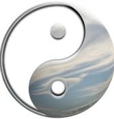 Yin Yang Sky - Illustration
