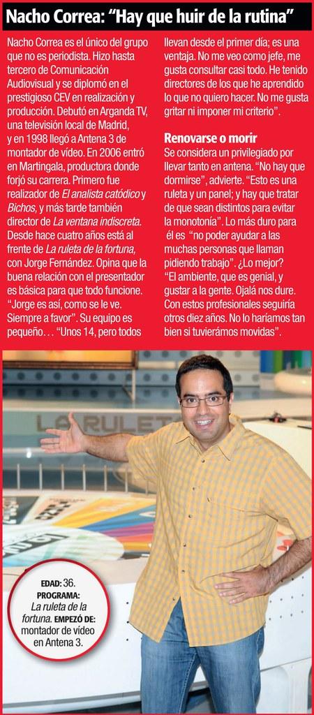 Entrevista Supertele a Nacho Correa, director de La Ruleta de la Suerte