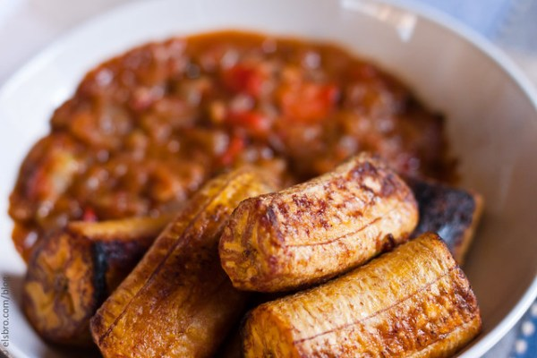 Dinner - Roasted Plantains