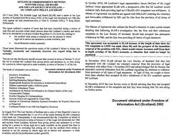 Outline of Correspondence SLAB-LSS re NS Lockhart