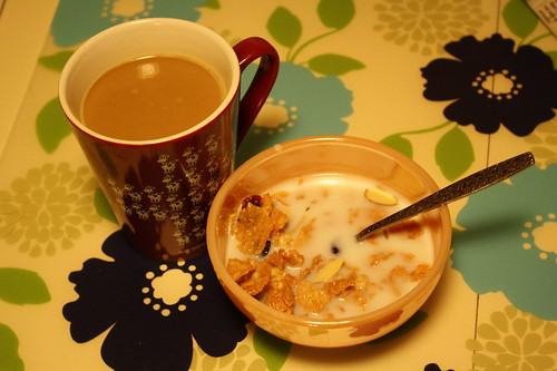 coffee, Post Great Grains cereal