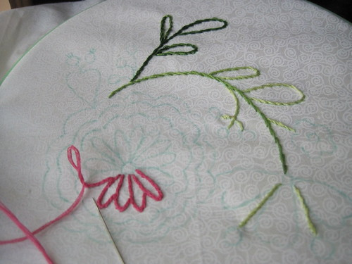 Learning to Embroider - BOM In Progress
