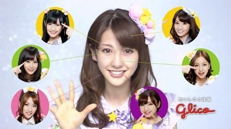 Aimi Eguchi AKB48 Photoshop CG composite Rival Nogizaka46