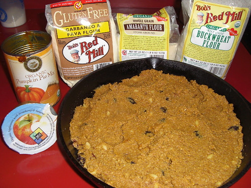 Pumpkin Bread and Ingredients