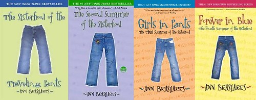 Image result for sisterhood of the traveling pants book series