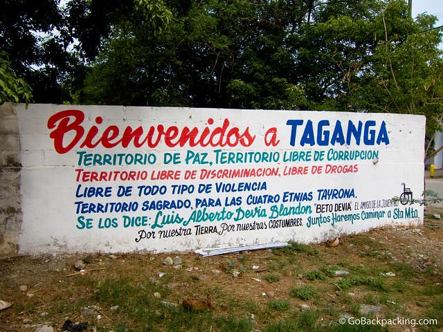 Welcome to Taganga
