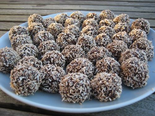 Cocolate balls