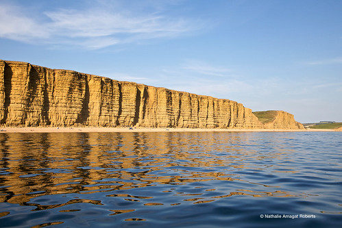 golden reflections in West Bay  by natamagat