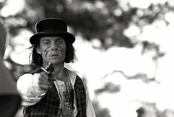 Do you know my poetry -- Johnny Depp as William Blake, in Jim Jarmusch's Dead Man