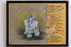 R2-D2 by Christian Guémy (aka C215) at CEA Saclay