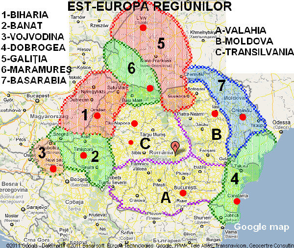 East Europe Regions