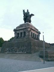 Deutschen Eck in Koblenz