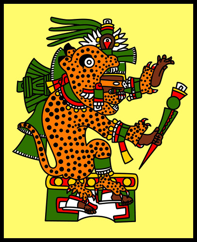 Jaguar Warrior - Codex Borgia