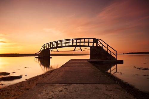 Belhaven Bay Sunset