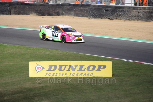 Tony Gilham during the BTCC Brands Hatch Finale Weekend October 2016