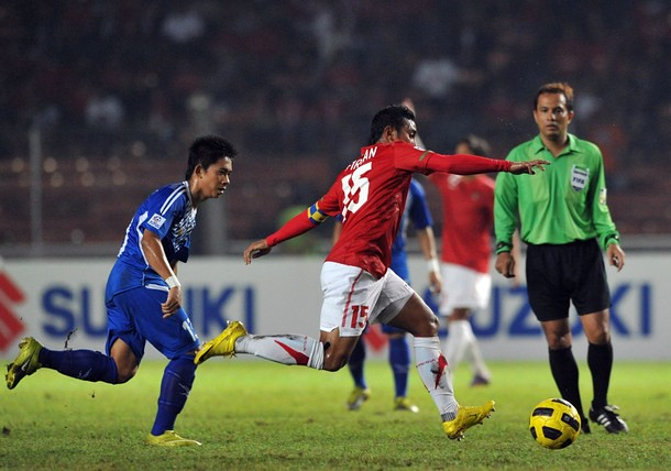 Indonesia vs Laos