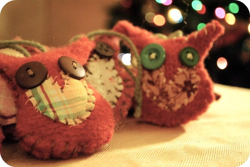 Owl ornaments