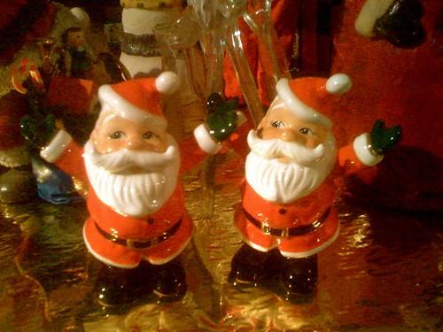1950's Japanese Ceramic Santas