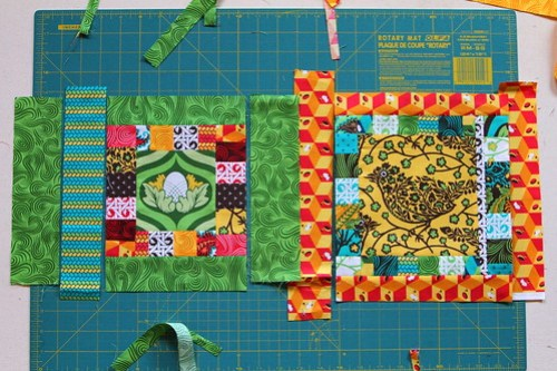 Fussy Cut Bee (A) :: Block Tutorial