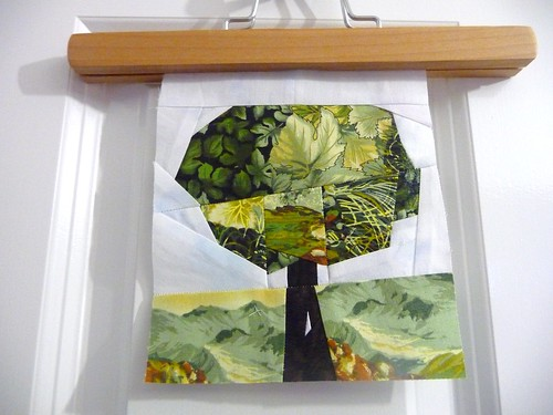 Paper Pieced Tree for Sewmany