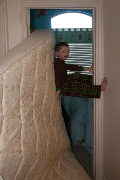 Wyatt Climbing