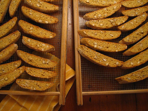 orange fennel almond biscotti