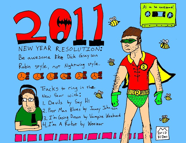 2011 new years resolution
