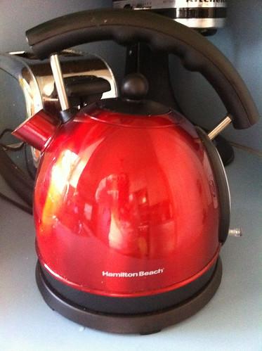 My tea kettle