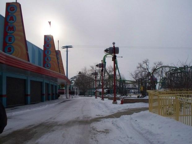 Cedar Point - Off-Season maXair Area