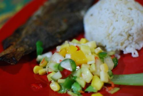Healthy Meals at Flow Surf.Yoga.Samba Weekend